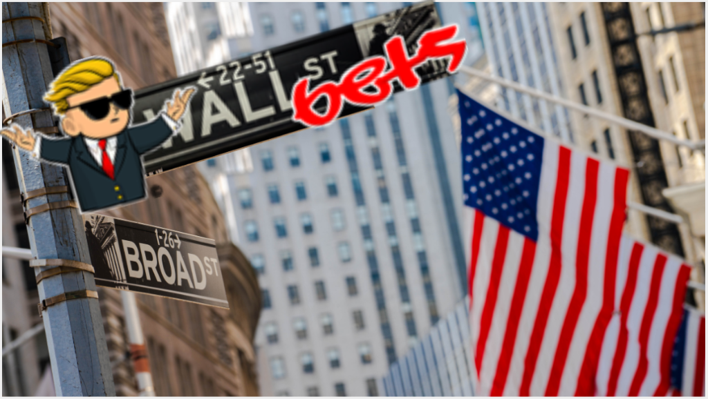 Bulls out of the pen. Wall Street, Trembling Giant Outraged, Beaten at own Game