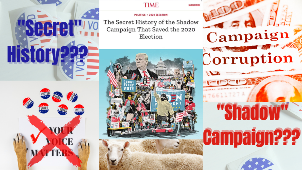 """Time Magazine Admits to 'Shadow Campaign"""""""