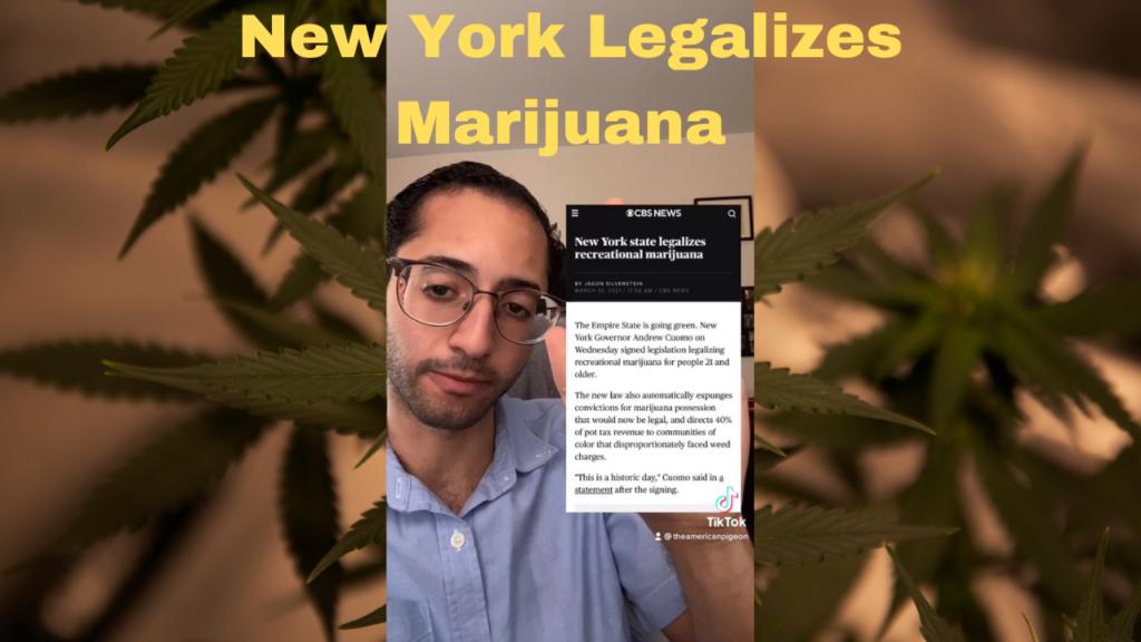 NY Legalizes Marijuana: Cuomo, Sales Tax, Revenue