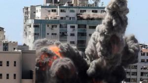 israel fire at hamas