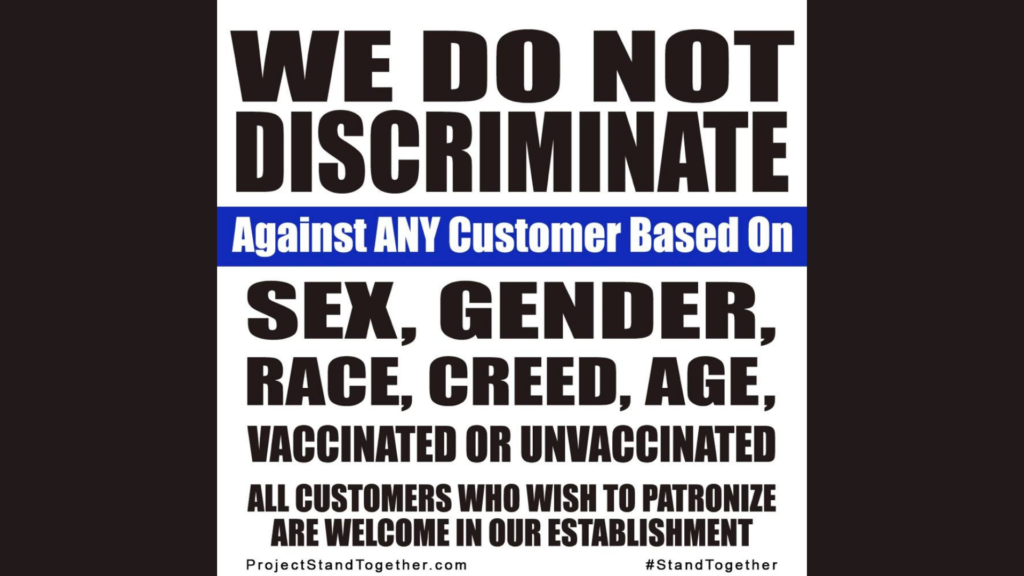 Viral Tiktok Creates Movement: Businesses Against Vaccine Mandate