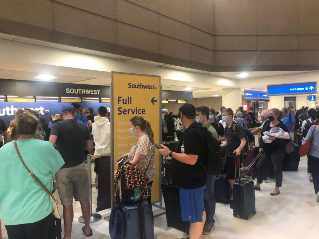 southwest flights canceled